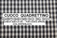 CUOCO QUADRETTINO