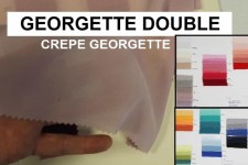 GEORGETTE DOUBLE H.140 CM