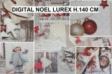 DIGITAL NOEL LUREX H.140 CM