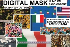DIGITAL MASK H.140 CM (SATIN)